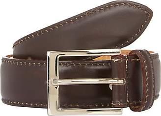 Harris Men's Leather Belt - Dk. brown