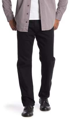 "AG Jeans Ives Modern Athletic Black Jeans - 34\"" Inseam"