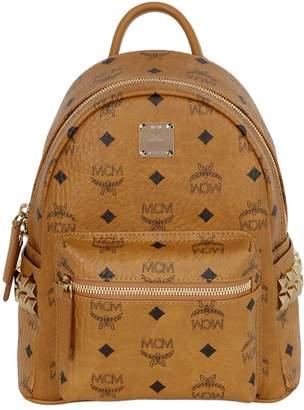 MCM Mini Stark Faux Leather Backpack