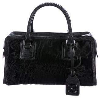 Love Alex Persian Lamb Satchel