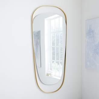 west elm Brass Orbit Mirror - Tall