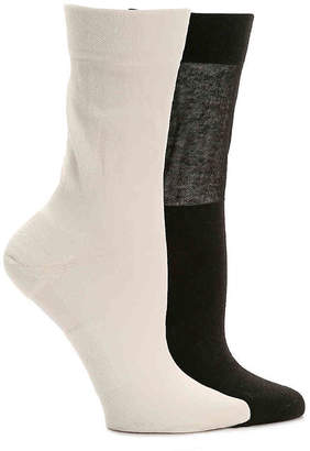 Dr. Scholl's Elevated Comfort Crew Socks - 2 Pack - Women's