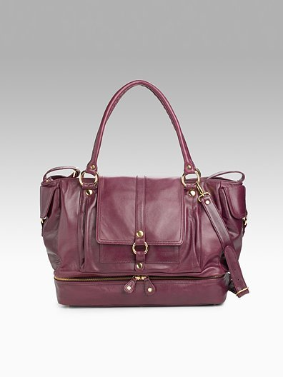 rebecca minkoff enters the land of designer diaper bags popsugar moms. Black Bedroom Furniture Sets. Home Design Ideas