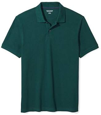 Amazon Essentials Men's Slim-Fit Cotton Pique Polo Shirt