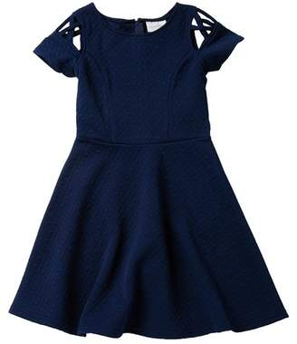 Blush by Us Angels Fit & Flare Dress (Big Girls)