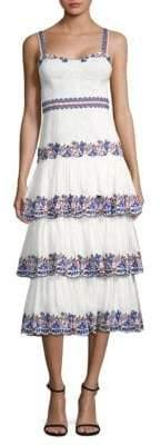 DAY Birger et Mikkelsen AMUR Presley Silk& Linen Midi Dress