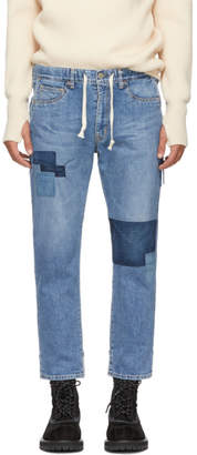 Remi Relief Blue Remake Easy Jeans