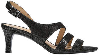Naturalizer Taimi Black Irid Pebble Sandal