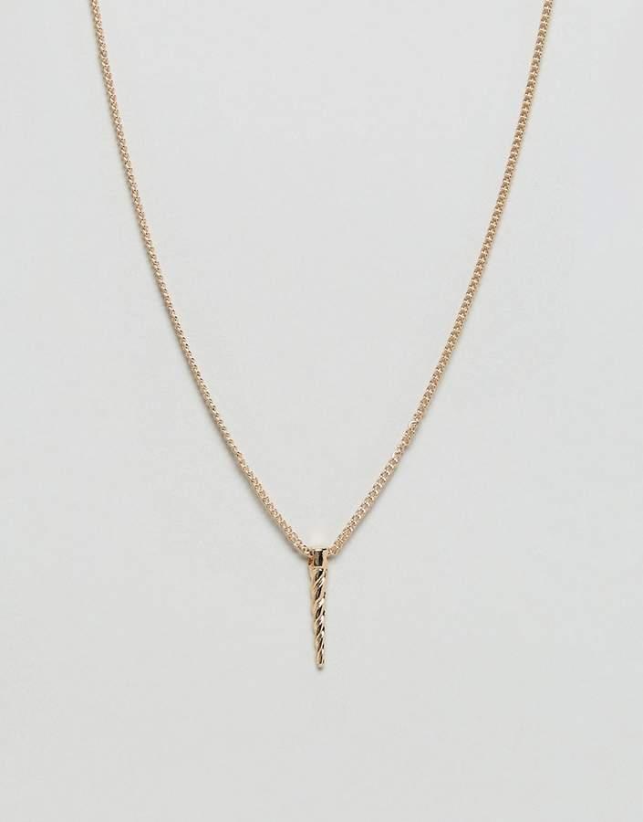 – Halskette mit Scherbe