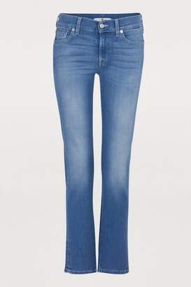 7 For All Mankind Roxanne jeans with contrasting stitching