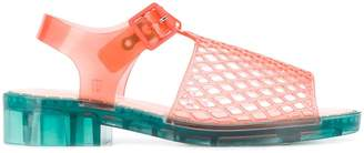 Opening Ceremony mesh look jelly sandals
