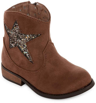 Okie Dokie Toddler Girls Moselle Cowboy Boots Pull-on
