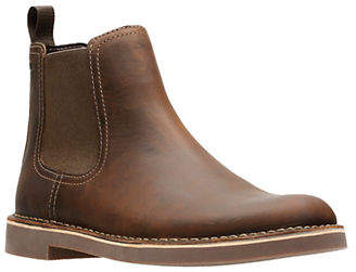 Clarks Leather Chelsea Boots