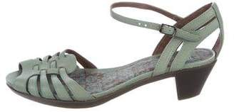 Camper Leather Multistrap Sandals