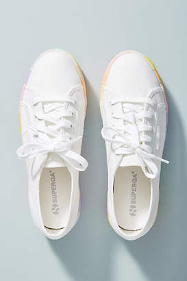 Superga Rainbow Platform Sneakers