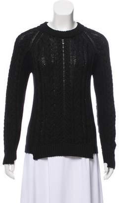 Rag & Bone Cable-Knit Crew Neck Sweater