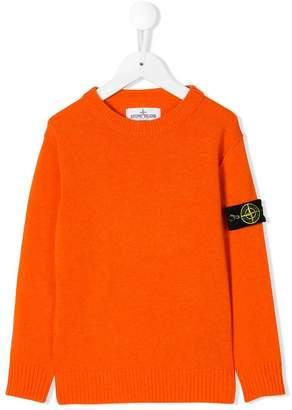 Stone Island Junior crew neck sweater