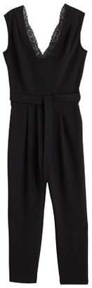 MANGO Lace long jumpsuit