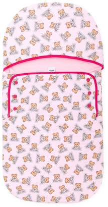 Moschino Kids teddy bear print sleeping bag