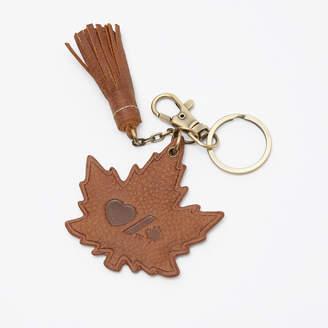 Roots Heart & Stroke Maple Keychain Tribe