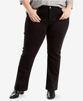 Levi's Plus Size 414 Classic Straight-Leg Jeans