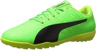 Puma Men's Evopower Vigor 4 TT Soccer Shoe, Green Gecko Black-Safety Yellow, 10 M US