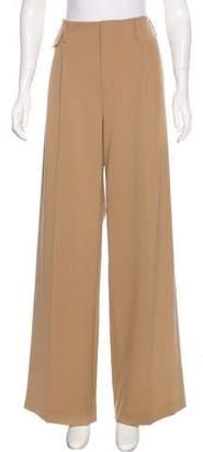 Nili Lotan Wool-Blend High-Rise Pants w/ Tags