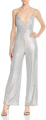 Saylor Sequined Stretch Jumpsuit