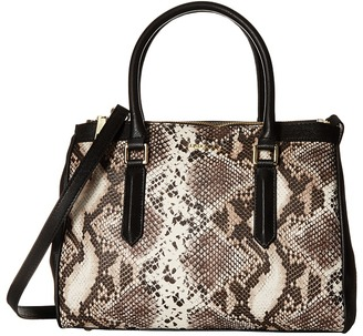 London Fog Anise Triple Tote $175 thestylecure.com