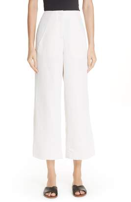 Zero Maria Cornejo Tin Side Slit Crop Pants