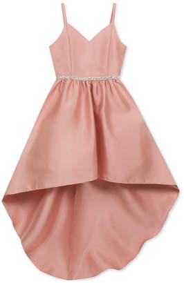 Rare Editions Big Girls Embellished Satin Dress