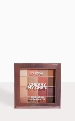 PrettyLittleThing Lu2019Oreal Paris Paradise Pastel Eyeshadow Palette Cherry My Cheri