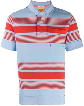 Lacoste Live striped polo shirt