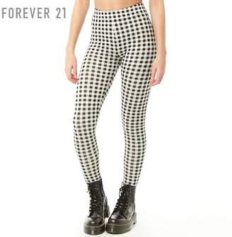Forever 21 (フォーエバー 21) - Forever 21 ギンガムチェックレギンス