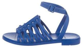 Givenchy Rubber Caged Sandals