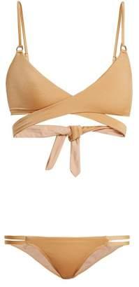 Melissa Odabash Indonesia Wrap Bikini - Womens - Gold