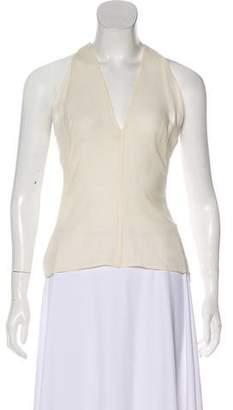 Valentino Silk Sleeveless Top