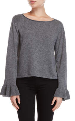 Milly Bell Sleeve Cashmere Sweater
