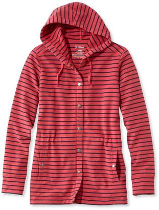 L.L. Bean L.L.Bean Ultrasoft Sweats, Hoodie Striped