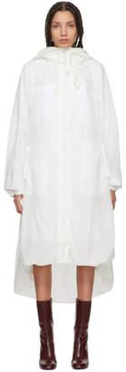 Jil Sander White Evolution Coat