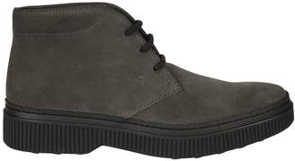 Tod's Tod`s Lace-up Ankle Boots