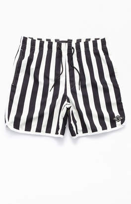"PacSun Breakout Stripe 16"" Swim Trunks"