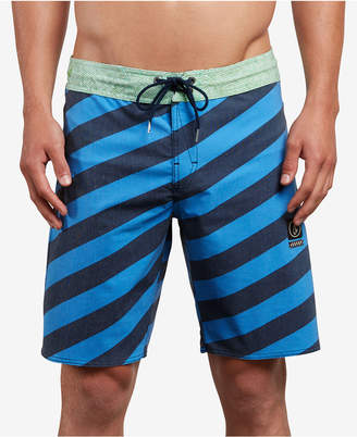 "Volcom Men's Stripey Stoney 19"" Board Shorts"