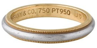 Tiffany & Co. Two-Tone Band $495 thestylecure.com