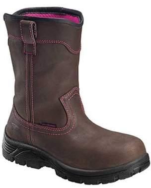 f937a428f8f4 Avenger Work Boots Avenger Women s A7146 Composite Safety Toe Wellington  Work Boot