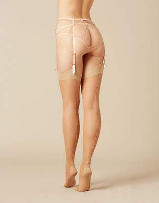 Agent Provocateur Opale Stocking Champagne