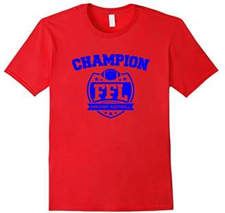Fantasy Football Champion Funny Football T-shirt