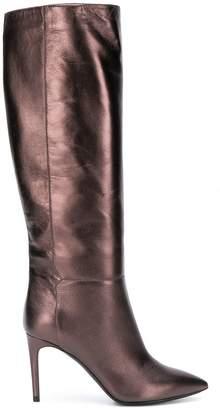 Pollini knee high boots
