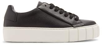 Primury - Dyo Leather Trainers - Womens - Black