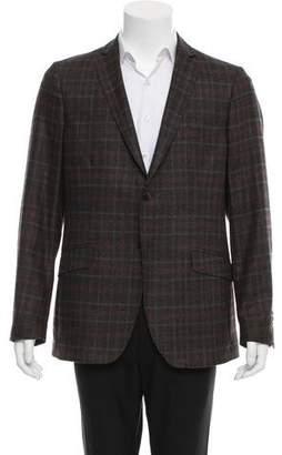Etro Plaid Wool Blazer w/ Tags